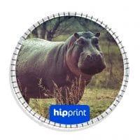 hipprint rond spandoekframe
